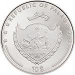 10$ Stokrotka i Biedronka 2 oz Ag 999 2018 Palau
