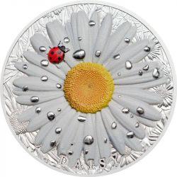 10$ Daisy Ladybug 2 oz Ag 999 2018 Palau