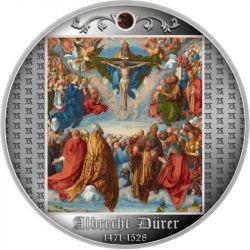 500 Franków Adoracja Trójcy Świętej, 550. rocznica urodzin Albrechta Dürera 17,5 g Ag 999 2021 Kamerun