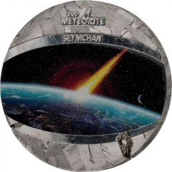 1$ Seymchan Meteorite 1 oz Niue 2021