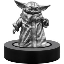 Grogu The Child - Gwiezdne Wojny, Mandalorian, Figurka 150 g Ag 925 2021