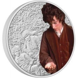 2$ Frodo Baggins - The Lord of the Rings 1 oz Ag 999 2021 Niue