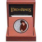 2$ Frodo Baggins - Władca Pierścieni 1 oz Ag 999 2021 Niue