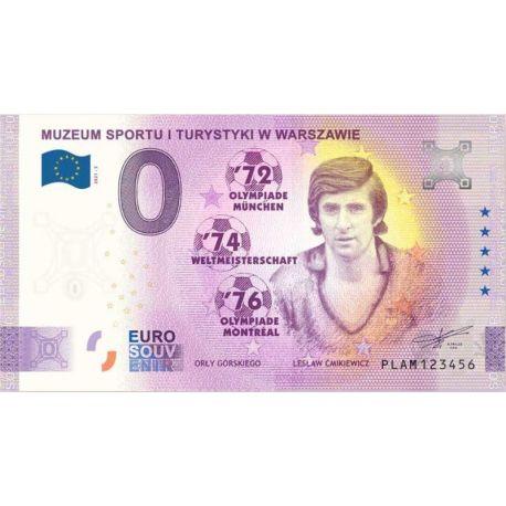 0 euro Górski's Eagles, Lesław Ćmikiewicz banknote