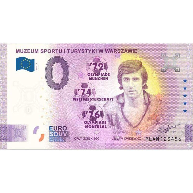 0 euro Orły Górskiego, Lesław Ćmikiewicz banknot
