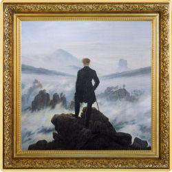 1$ Wędrowiec nad morzem mgły, Caspar David Friedrich - Skarby Światowego Malarstwa 1 oz Ag 999 2021 Niue