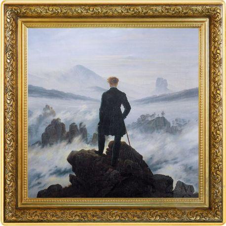 1$ Wanderer Above the Sea of Fog, Caspar David Friedrich - Treasures of World Painting 1 oz Ag 999 2021 Niue