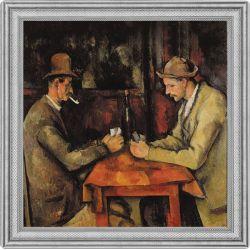 2$ Gracze w karty, Cezanne -  Najdroższe Obrazy Świata