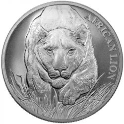 5000 Francs Lew Afrykański