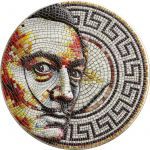 2$ Mozaika, Salvador Dalí 2 oz Ag 999 2021 Niue