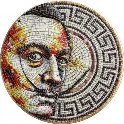 2$ Mosaic Salvador Dalí 2 oz Ag 999 2021 Niue