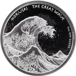 1$ Hokusai, Wielka Fala