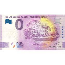 0 euro 100 lat Muzeum...