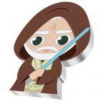 2$ Obi Wan Kenobi - Star Wars, Chibi 1 oz Ag 999 2021 Niue