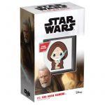 2$ Obi Wan Kenobi - Gwiezdne Wojny, Chibi 1 oz Ag 999 2021 Niue