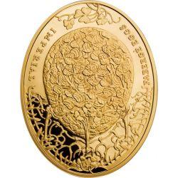 100$ Clover Egg 3 oz Au 900 2011 Niue