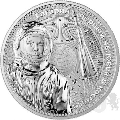 10 Victories Gagarin - Interkosmos 1 oz Ag 999 2021