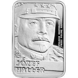 10 zł Józef Haller - Stulecie Odzyskania przez Polskę Niepodległości