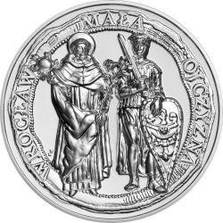 50 zł Wrocław, Mała Ojczyzna 2 oz Ag 999 2021 Polska