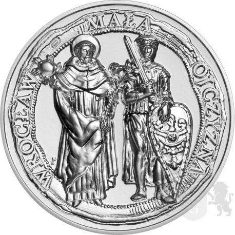 50 zł Wrocław, the Little Homeland 2 oz Ag 999 2021 Poland
