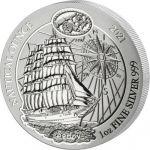 50 Francs Sedov - Nautical Ounce 1 oz Ag 999 2021 Rwanda