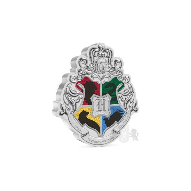 2$ Herb Hogwartu - Harry Potter 1 oz Ag 999 2021 Niue