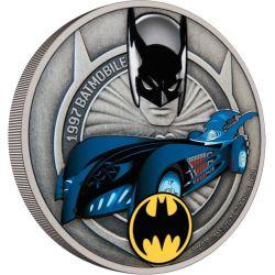 2$ Batmobile 1997 1 oz Ag 999 2021