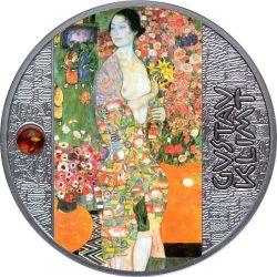 500 Francs The Dancer, Gustav Klimt - Artist Breaking the Rules 17,50 g Ag 999 2021 Cameroon
