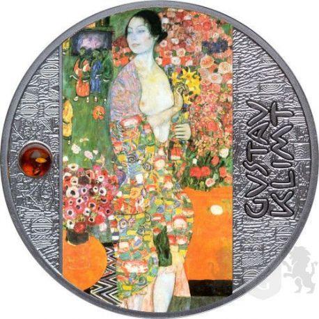 500 Franków Tancerka, Gustav Klimt - Artysta Łamiący Schematy 17,50 g Ag 999 2021 Kamerun