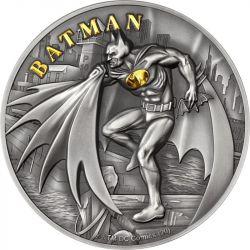 10$ Batman 2 oz Ag 999 2021 Wyspy Cooka