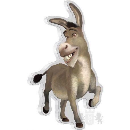 2$ Donkey - Shrek 1 oz Ag 999 2021 Niue