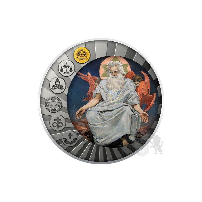 500 Francs The Is a One God - Essential Truths of the Faith 17,5 g Ag 999 2021 Kamerun