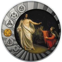 500 Francs The Son of God Became Man - Essential Truths of the Faith 17,5 g Ag 999 2020 Cameroon