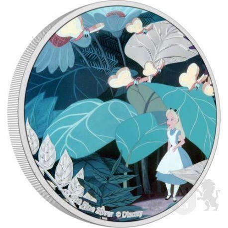 2$ Alicja w Krainie Czarów - Disney 1 oz Ag 999 2021 Niue