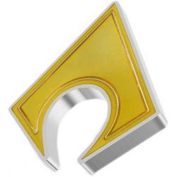 2$ Aquaman Logo - DC Comics 1 oz Ag 999 2021 Niue
