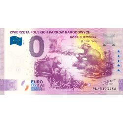 0 Euro Eurasian Beaver -...