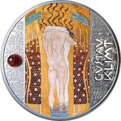 500 Franków Beethoven Frieze, Gustav Klimt - Artysta Łamiący Schematy 17,50 g Ag 999 2021 Kamerun