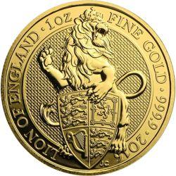 100£ Lew - Bestie Królowej