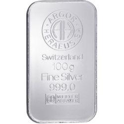 Silver Bar Argor-Heraeus 100 g