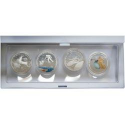 Kosmos, zestaw 4 monet