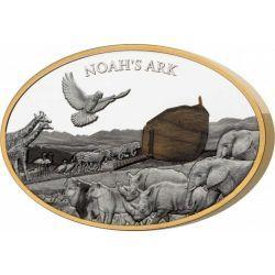 10$ Arka Noego 3 oz Ag 999 Wyspa Salomona 2021