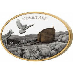 10$ Noah Ark 3 oz Ag 999 Solomon Islands 2021