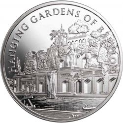10 Shekels Hanging Gardens of Babylon - 7 Wonders of the World 1 oz Ag 999 2021
