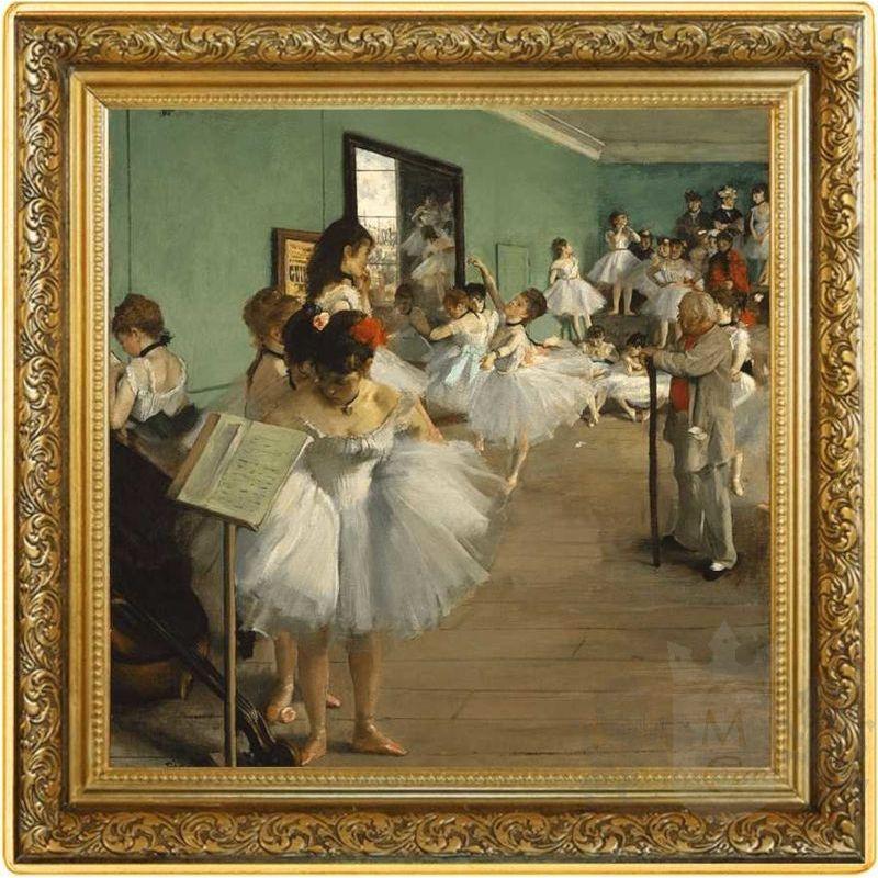 1$ Lekcja tańca, Edgar Degas - Skarby Światowego Malarstwa 1 oz Ag 999 2021 Niue