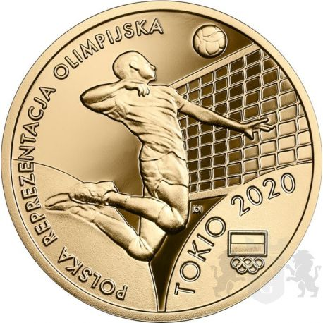 200zł Polish Olympic Team Tokyo 2020 Au 900 2021