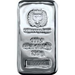 Silver Bar, Germania Mint 250 g Ag 9999 Poland