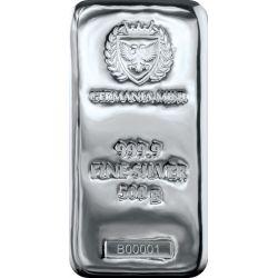 Silver Bar, Germania Mint 500 g Ag 999.9 Poland