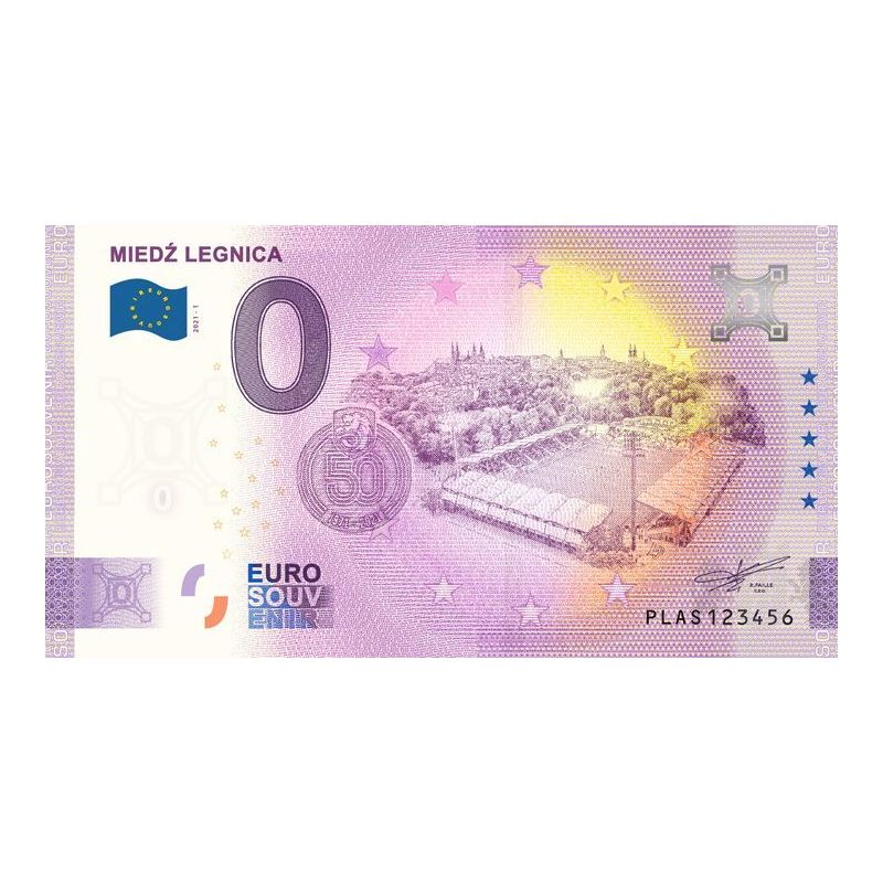 0 Euro 50 years of Miedź Legnica