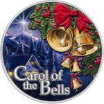 500 Francs Carol of the Bells 1/2 oz Ag 999 2021 Cameroon