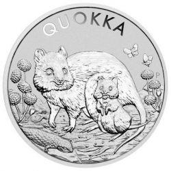 1$ Quokka 1 oz Ag 999 2021